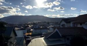 生駒山上方面